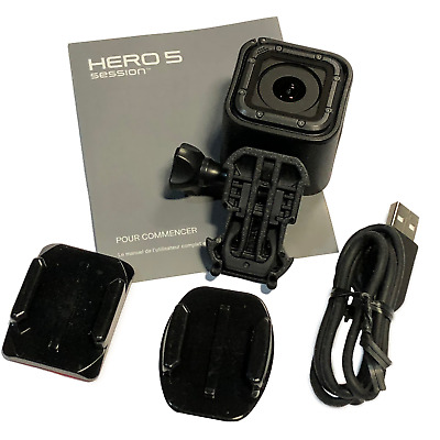 GoPro HERO 5 Session 4K Action Camera - Certified Refurbished w/ accessories