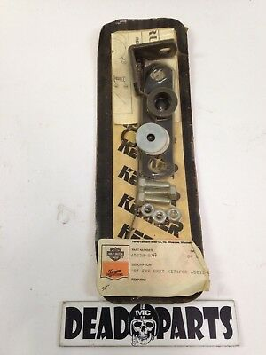 Harley NEW NOS 65228-87a FXR exhaust pipe muffler mounting kit hardware