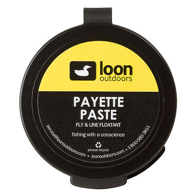 Loon Outdoors Payette Floatant Fly Fishing Paste Water Resistent Coating