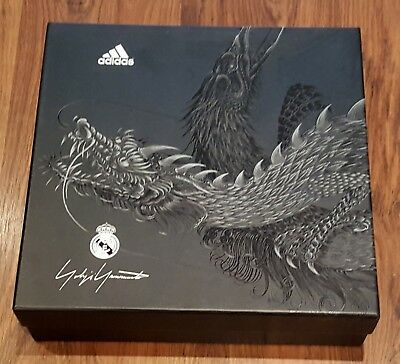 big sale 5de33 b8273 REAL MADRID 2014/15. Boxed Adizero Yamamoto Black Dragon kit - shirt etc.  Large