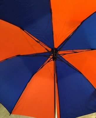 NEW The Big Storm 58 Inch Oversize Wind Resistant 4500 Umbrella Blue Red * LOGO