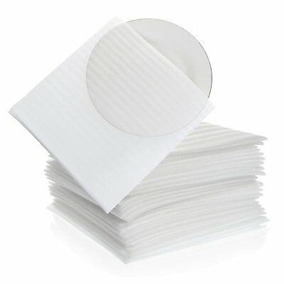 """Foam Wrap Cup Pouches 9 1/8"""" x 9 3/4"""" (30 Count), Cushion Pouches to Protect..."""