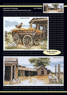 Barn-Yards - 'Combo' Cross Stitch Chart from Country Threads. 2 Designs