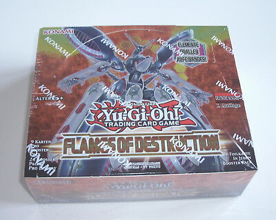 Yu-Gi-Oh - Flames of Destruction - Display - NEU & OVP - Deutsch