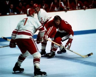 Vic Hadfield Team Canada 1972 Summit Series Game Auction 8x10 Photo