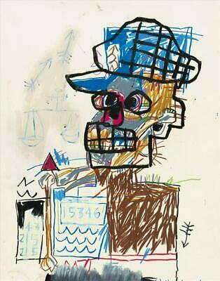 Jean-michel Basquiat Drawing: Work from the Schorr Family Collection by Fred Hof