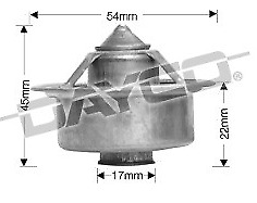 Thermostat for Toyota Camry 3VZ-FE Feb 1993 to Jul 1995 DT21A