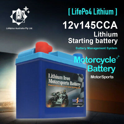 12V 145CCA Lithium MotorCycle Battery LFP5ZS - YTX5L-BS YTX4L-BS YTZ7S-BS DTZ7S
