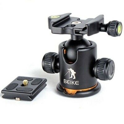 "Plate BEIKE 1/4"" Scre BK-03 Camera Tripod Ball Head Ballhead with Quick Release"