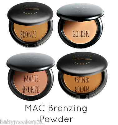Mac Bronzing Powder - Refined Golden - Uk Seller Golden Bronze Bronzing Refined