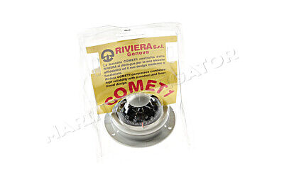 """RIVIERA Comet Boat Marine Compass 2"""" Grey Surface Mount"""