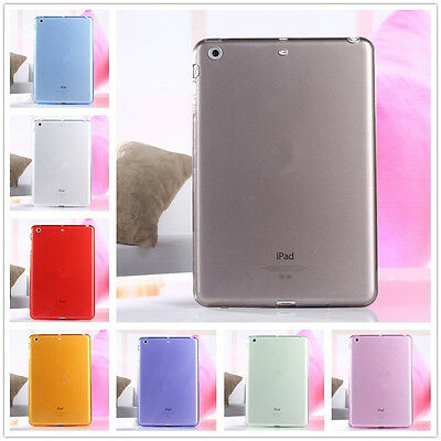 Clear Shockproof Case Soft Gel TPU Back Cover For iPad 6th 9.7 2018/Mini 4/Air 2