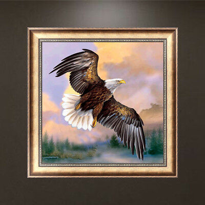 Eagle 5D Diamond Embroidery Painting Rhinestone Cross Stitch Decoration Craft