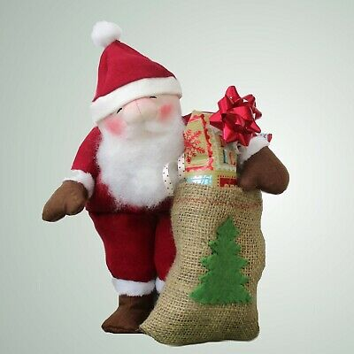 """Santa Claus soft toy Father Christmas sewing pattern  12"""" tall (30cm)"""