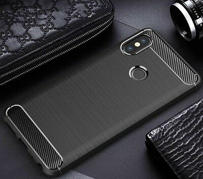 For Xiaomi Shockproof 360° Carbon Case Cover & Full Coverage Screen Protector