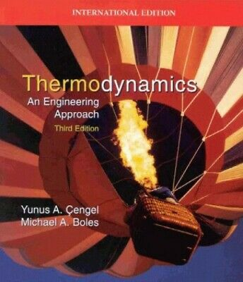 Thermodynamics: An Engineering Approach by Cengel overrun Paperback Book The