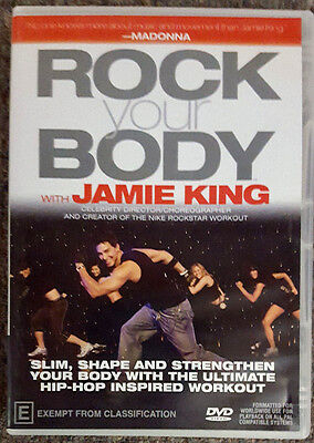 Rock Your Body with Jamie King (DVD) in LIKE NEW condition (Region 4)