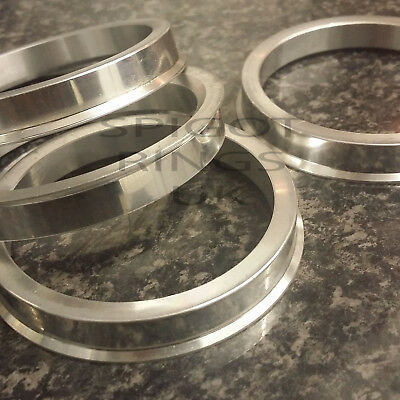 Spigot Rings 72.6 - 74.1 Forged Aluminium Metal BMW 1/3/5/7 series e39 to e60