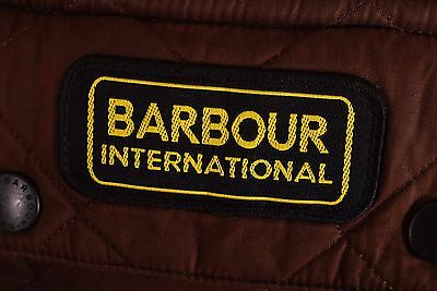 Men's Barbour Duracotton International Polarquilt Jacket Size L Genuine