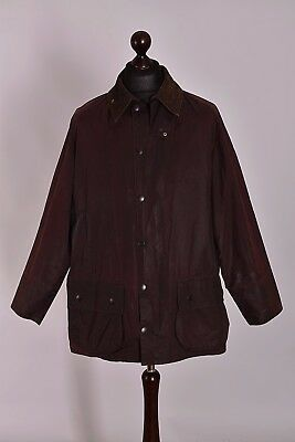 Men's Barbour Beaufort Jacket Size C44 / 112cm Genuine Casual Waxed