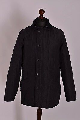Men's Barbour Microfibre Polarquilt Quilt Jacket Size M Genuine Mint Casual