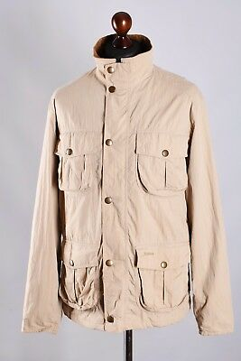 Men's Barbour Utility Traveller Lightweight Jacket Size L Genuine Casual