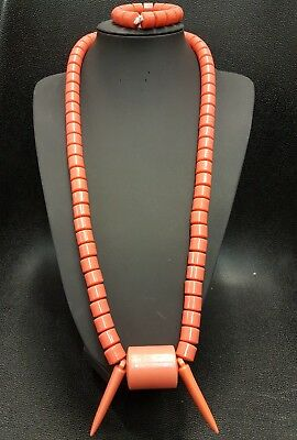 New Elegant African Wedding Latest Igbo Traditional Coral Beads
