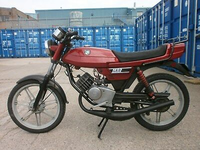 1980 PUCH MONZA M50 in  RED