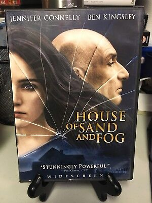 House of Sand and Fog used DVD Widescreen Ben Kingsley Jennifer Connelly Free SH
