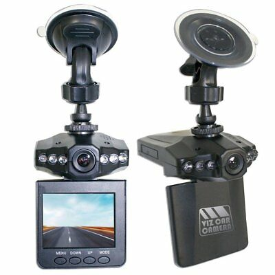 Viz Car Camera 2.5 Inch LCD Full HD Driving Camera Dash Cam With Mount
