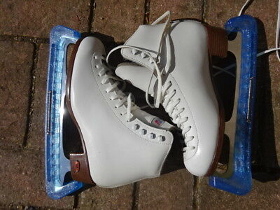 Riedell Ladies Ice Skates Riedell Size 7 Uk Size 5