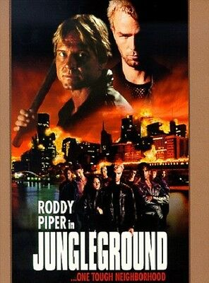 Jungleground (DVD, 1999) VG - LN Rare OOP Out of Print Hard to Find HTF