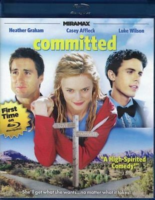 Committed (Blu-ray Disc, 2013) LN Rare OOP Out of Print & Hard to Find HTF MINT