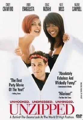 Unzipped (DVD, 2004) LN Rare OOP Out of Print & Hard to Find HTF MINT