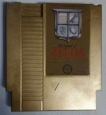 Gold Legend Of Zelda Timecrisis Fall of the Moon NES - Repro Hack Reproduction