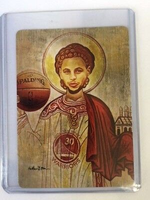 Limited Ed. 3/10 Steph Curry crypto art card signed by artist w/ 100 XRP Ripple