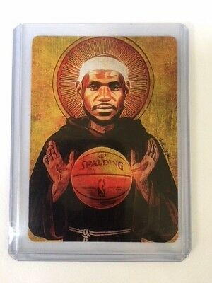 Limitd Ed. 2/10 Lebron James crypto art card signed by artist w/ 1 Litecoin