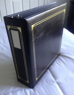Century Deluxe Photo Album - Holds 8 x 10 Pages