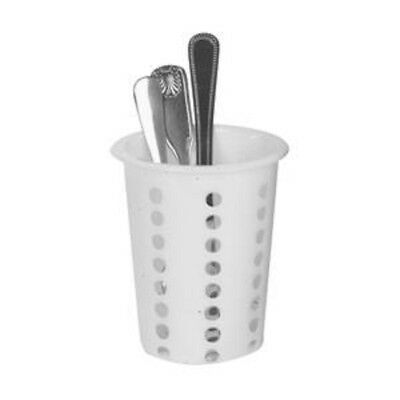 12 Plastic Flatware Cylinder Cups For Stainless Steel Flatware Holder Organizer