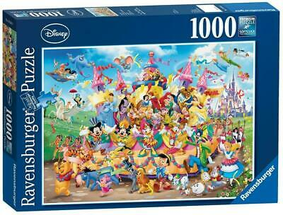Disney Carnival Character Puzzle, 1000 Piece - Ravensburger Free Shipping!