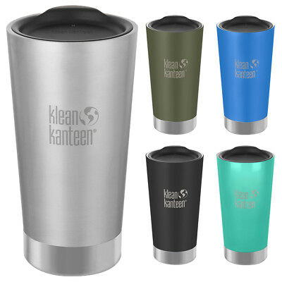 Klean Kanteen 16 oz. Insulated Stainless Steel Tumbler with Lid
