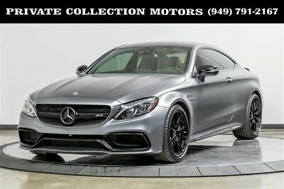 2017 Mercedes-Benz C-Class  2017 Mercedes-Benz C63 AMG S AMG C 63 S Edition 1 C-Class Highly Optioned