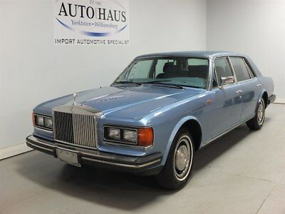 Rolls-Royce Silver Spur  1983 ROLLS ROYCE SILVER SPUR - LOOKS/RUNS/DRIVES GREAT! NEW VA STATE INSPECTION!