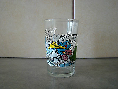 Sctroumph - Verre A Moutarde - Peyo - 1990 - Imps Brussels -