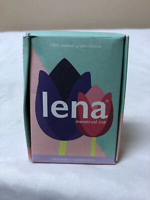 LENA Menstrual Cups Small & Large - Pink and Turquoise