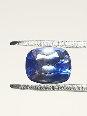Natural Sri-Lankan 1.20Ct Cushion Cut Ceylon Blue Sapphire Loose Gemstone