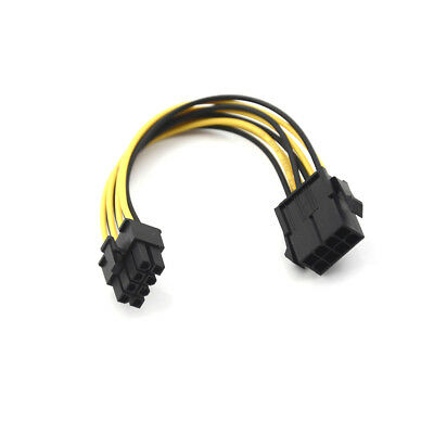 20cm 8 Pin SEX PSU Power Extension Cable Extension Power Cable Power SupplySEAU
