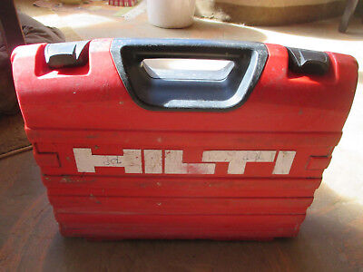 Hilti Tool Case from SFH 18-A Hammer Drill / Driver. EMPTY CASE ONLY, No Drill!