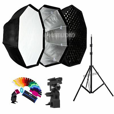 80cm Octagon Umbrella Honeycomb Softbox and Photograph​y Light Stand kit