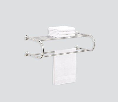 Organize It All Shelf Rack With Two Towel Bars 1727 Picclick